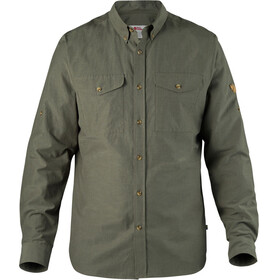 Fjällräven Övik Lite Shirt Men mountain grey